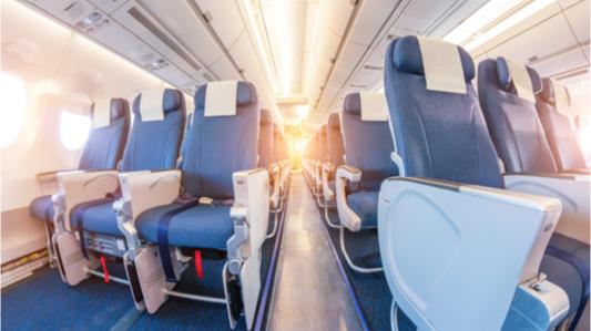 抗菌技术可以让飞机上的纺织品更加安全